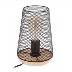 LAMPARA SOBREMESA METAL Y...